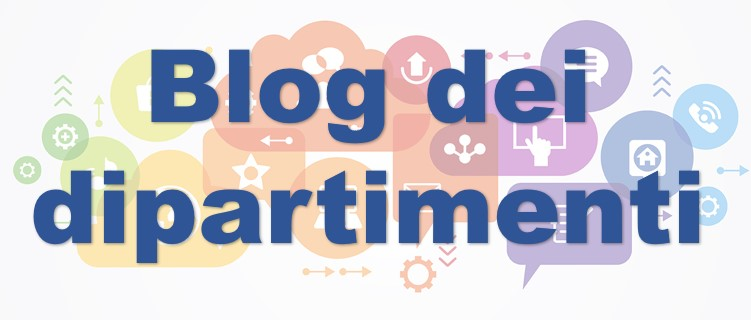 Banner blog dipartimenti